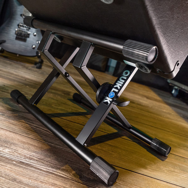 detail view amp stand shown with amp