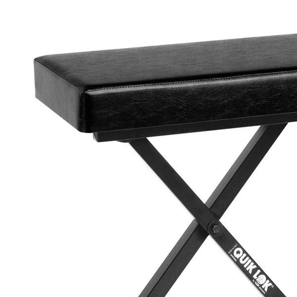 detail image of keyboard bench