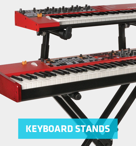 double keyboard X stand